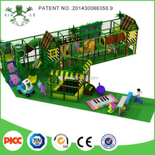 2015 funny play area jungle forest themed indoor soft playground equipment for kids
