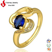 Fashion jewelry mexico18k gold ring