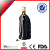 black nylon wine ice cooling pack bottle cooler gel pack with CMC material with draw cord