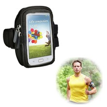 Double Zipper Design 6 Inch Universal Sports Armband Case for iPhone 6 with Earphone holder