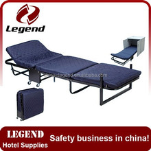 Model luxury guest room bed in china factory
