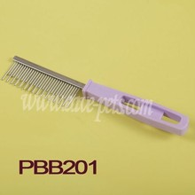 New Pet Dog Hair Shedding Grooming Comb Puppy Cat Stainless Pin Brush Flea Comb
