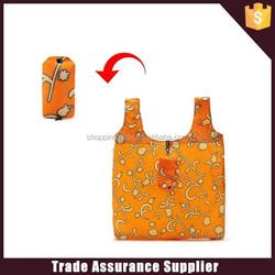 factory sale promotional cheap nylon foldable shopping bag
