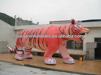 Inflatable tiger animal model cartoon
