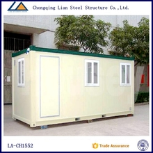 Luxury prefab house container in china