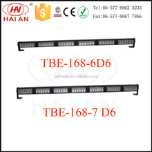 Amber/red/blue/white LED auto car front grille light TBE-168-D6 CE/IP65/ROHS