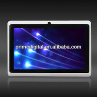 Q88 7 inch Cheap Tablet PC MID android 4.0 Allwinner A13 cortex-a8 Dual Camera 1.25Ghz 4GB capacitive multi-point