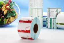 Kraft paper /wood free/PE/PVC self adhesive label