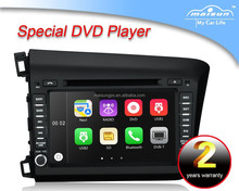 "8"" touch screen car GPS navigation multimedia system dvd for honda civic 2012"