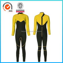 Womens Sexy Yellow or Customized Color Neoprene 5mm Wetsuit