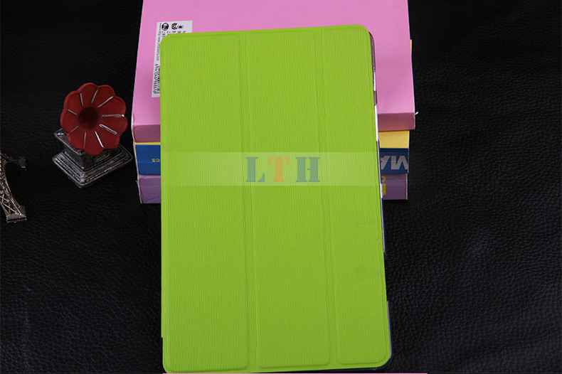PU leather case for Samsung Galaxy Tab S T700 8.4 inch tablet leather case with bamboo pattern