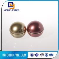 Shangyu Plastics Spherical Plastic Ball Cosmetic Round Jar