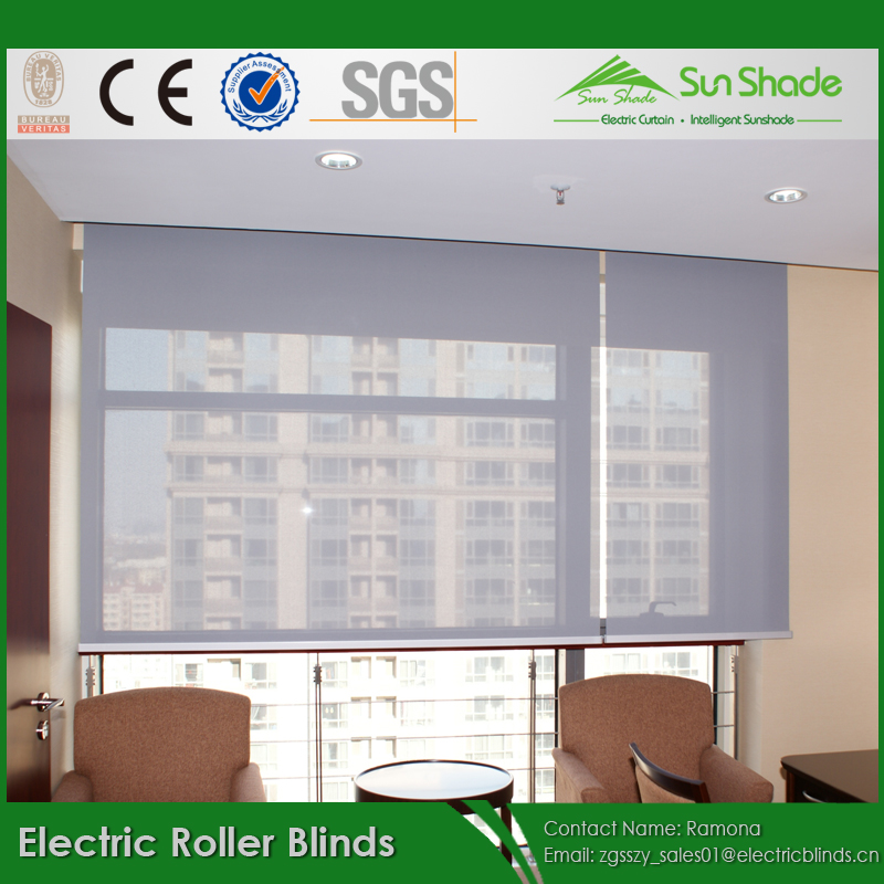 Diy Motorized Electric Automatic Sunscreen Roller Blinds