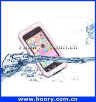 Universal Colorful Waterproof Durable phone waterproof case For iPhone5c 4 4s