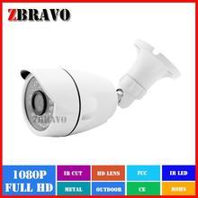 Aluminum housing 2 megapixel HD-AHD camera HD1080P AHD cam with RoHs
