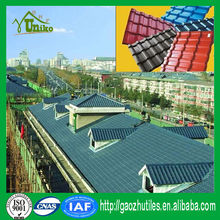 Building material plastics best roof tile/Corrugated roofing sheets/PVC roofing material for villa roof
