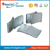 N38SH Strong Magnetic R16.25*R8.25*19.5 Magnet Shoe