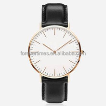 Daniel Wellington watch with interchangeable straps for a classic and timeless design
