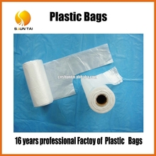 new style HDPE clear plastic bags for food and fruit