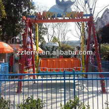 Playground amusement park rides happy swing park kiddie games for sale