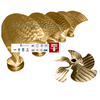marine bronze controllable pitch propeller