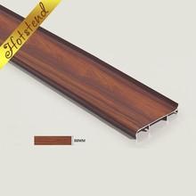 China factory cheap baseboard aluminium skirting board