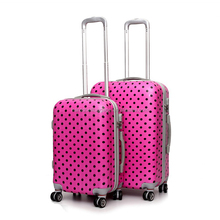 high quality plastic abs luggage case, baigou shanghai jiaxing luggage factory