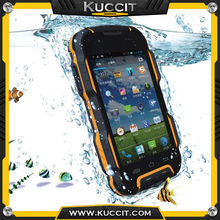 4500mAh Battery MTK6582 Quad Core phone rugged Android IP67 mobile Phone Waterproof Long standby Shockproof smart phone 3G GPS