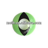 green cat eyes Halloween wholesale crazy contact lens