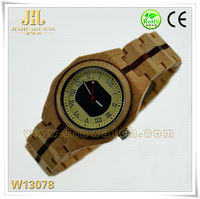 high quality wooden watch case 2014 fashionable hot sales Digital wood watch