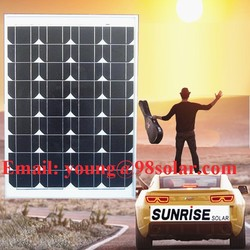 High quality and Cheap ,solar panel of mono 50w, factory direct sale