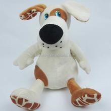 25cm Farm animal lovely plush dog with cartoon eyes