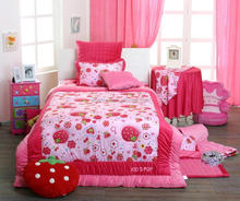 multi- printing bed linen for cute design from specialized bed linen manufacturer