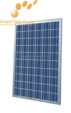 250W 18V poly solar panel for home use