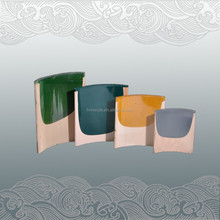 chinese style antique flat roof glazing tiles for garden house