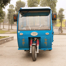 Hot sale 2 piece of 1120W motors electric cargo tricycle with cabin