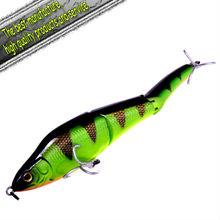 2012 Crazy Sales Plastic fishing lure jerk bait Snake Swimmer 230mm 115g