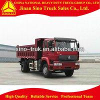 Gloden prince 4*2 heavy duty dump truck vehicle