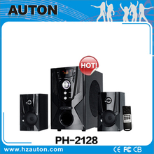 Professional manufacture 2.1 speakers ,2.1 hi fi speaker system with USB SD card and Fm radio
