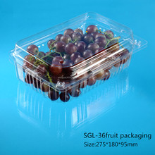 Customized Plastic Blister Packaging Boxes for Fruit and Vegetable