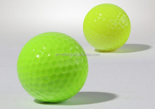 Custom golf balls Colorful golf range balls wholesale color bulk blank colored golf balls
