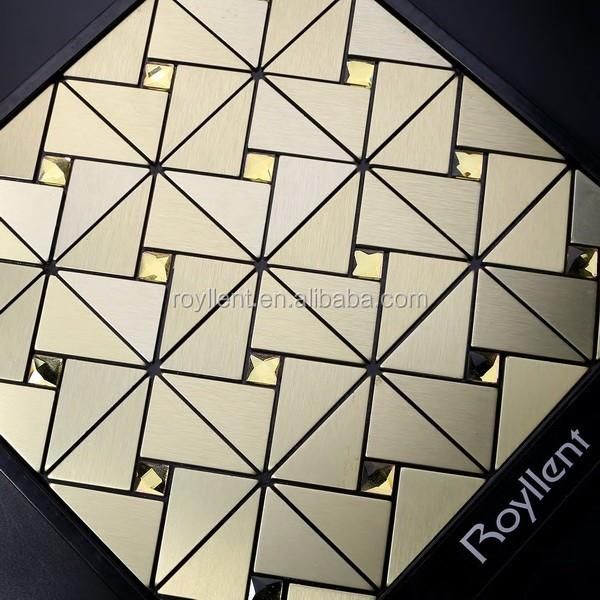 도매 현대 집 디자인 자기 접착 벽 타일 금속 모자이크-모자이크 ...