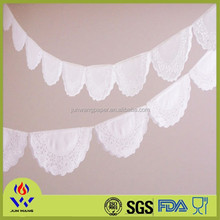Factory price all size paper doilies decoration for home