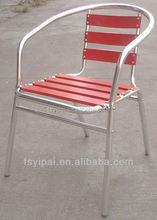outdoor garden aluminum stackebable cafe coffee shop chair (YC001A)