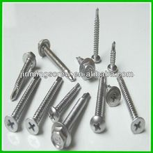 High quality stainless iron 410 self drilling screw