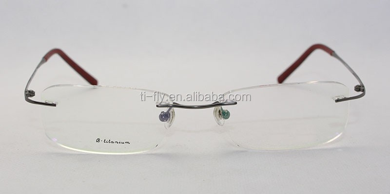 Rimless Glasses En Espanol : Customizable China Wholesale Naturally Rimless Titanium ...