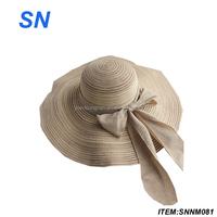 Best Selling Women folding straw hats
