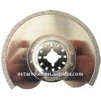 91mm Fein Multimaster Bosch Diamond Segment Grout Saw Blade Oscillating Multi Tool Saw Blade