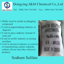 China sodium sulfate price