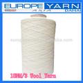 18nm/3 hilo lana 100% para a mano alfombras tufting